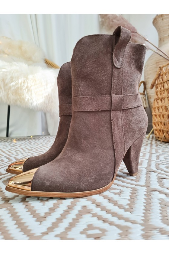 Largo boots suede cocoa PRODUCT ON ORDER